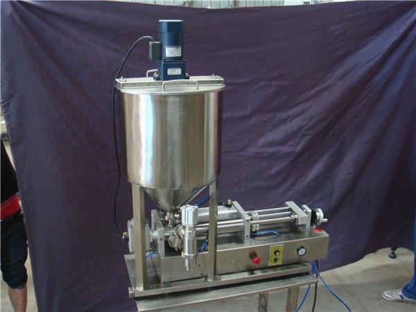 반자동 액체 충전 기계