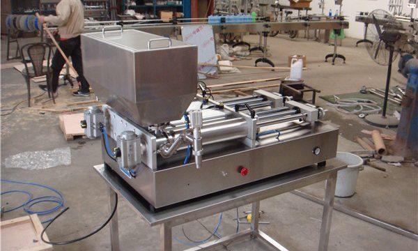 Найдешевша пневматична напівавтоматична машина для заповнення варення